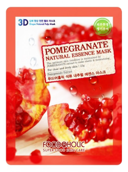 Тканевая маска с Гранатом Food A Holic 3D Shape Pomegranate