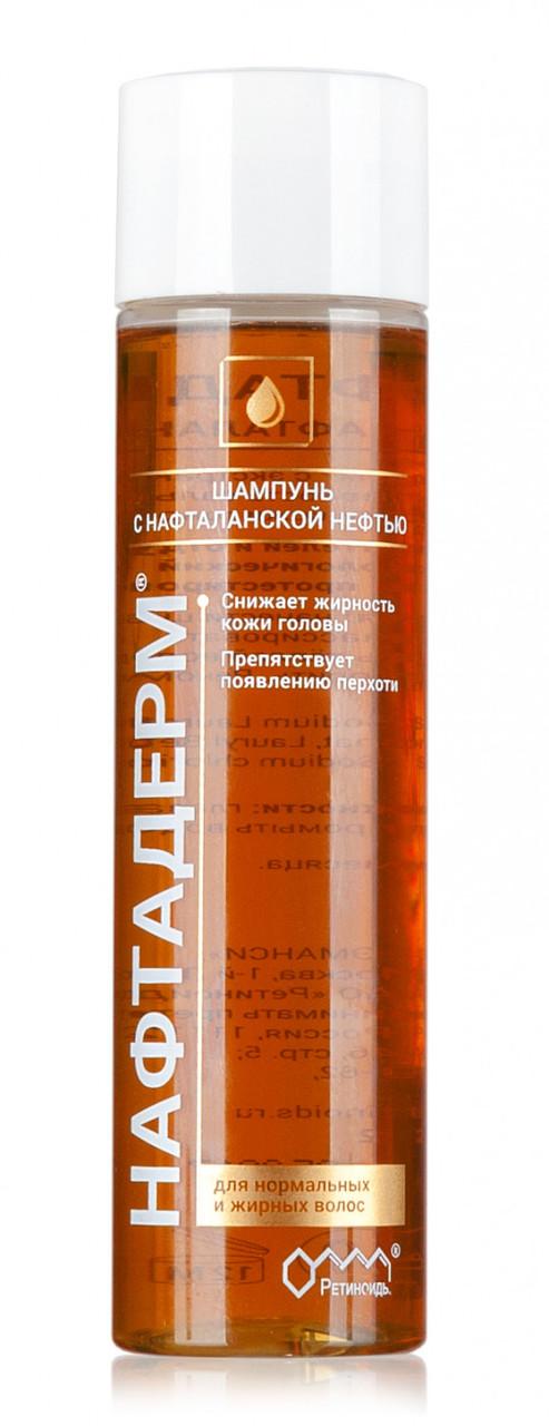 Нафтадерм шампунь с нафталанской нефтью, 250 мл