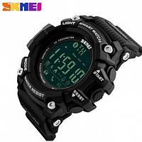 Умные часы Skmei 1227 Bluetooth 50m Waterproof Black (Original)!, фото 1