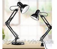 Настольная лампа светильник Трансформер на подставке и прищепке, фото 1