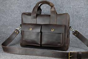 Портфель с карманами |10193| Шоколад