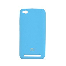 Накладка Silicone Cover for Xiaomi Redmi 5a Tahoe Bluе