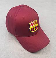 Футбольная кепка Барселона бордовый