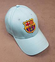 Футбольная кепка Барселона голубой