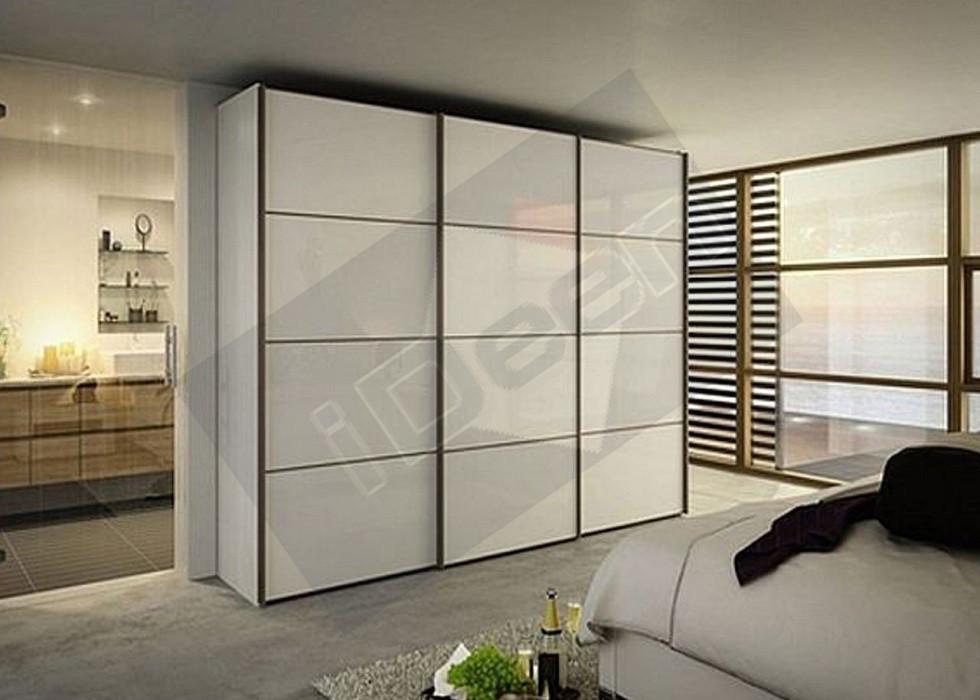 Шкаф купе крашенные панели, стекло - 04