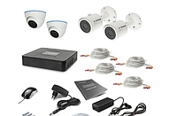 Набор видеонаблюдения (регистратор + 4 камеры)