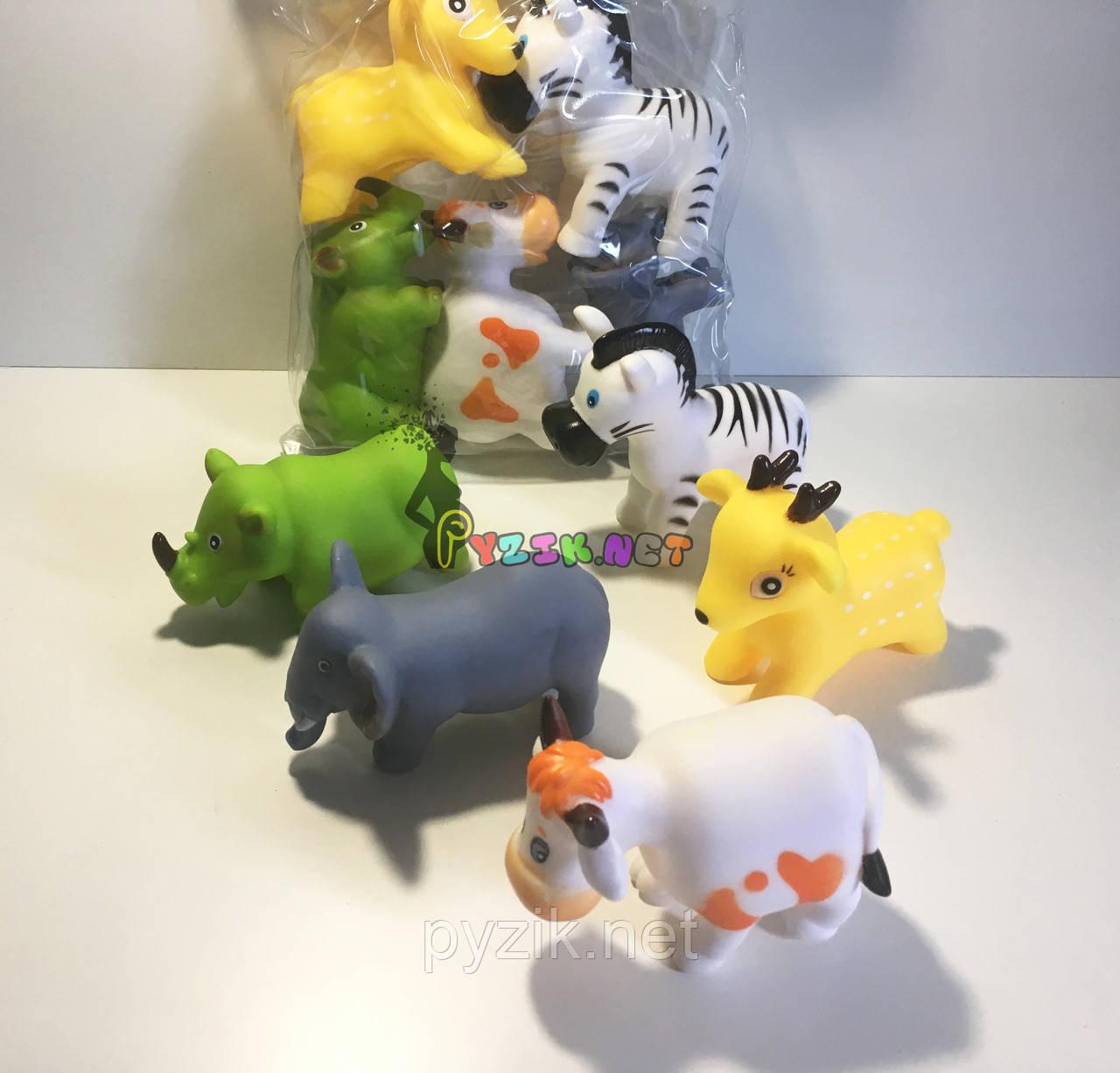 """Набор игрушек в ванночку 5 шт """"Животные"""""""
