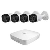 Набор видеонаблюдения (регистратор + 4 камеры)  WiFi