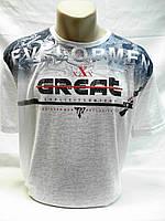 Футболка мужская CRACOW белая марлёвка (3.5.6XL,), фото 1