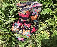 Детские резиновые сапожки Realpaks бабочки 27