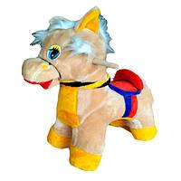 Качалка КХ лошадка маленькая, серебрянная