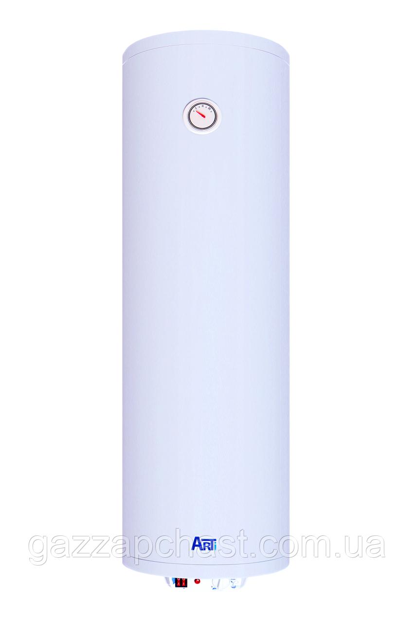 Водонагреватель Arti Slim вертикальный с двумя сухими ТЭНами, 2х1000 Вт, 50 л