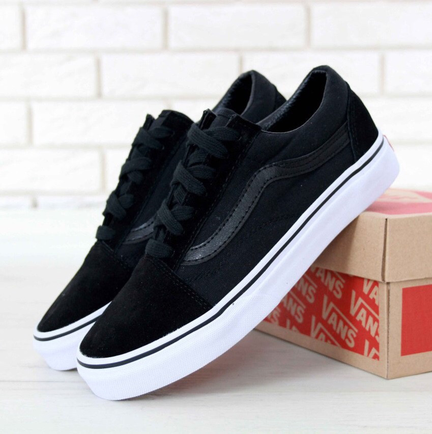 46a3fdd628a3 Кеды в стиле Vans Old Skool Black/White 2 унисекс - Bigl.ua