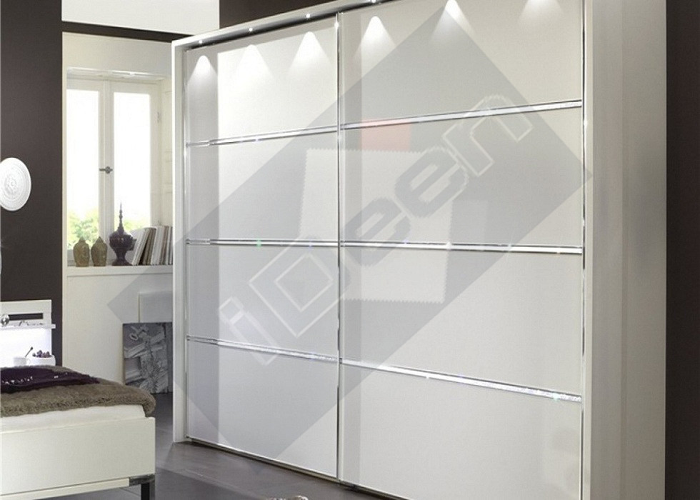 Шкаф купе крашенные панели, стекло - 12