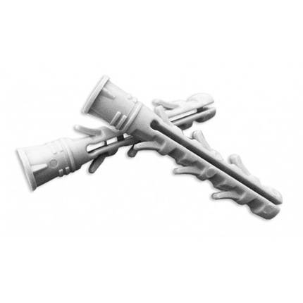 Дюбель распорный 8х50 мм, буртик (100 шт) | 23-047, фото 2