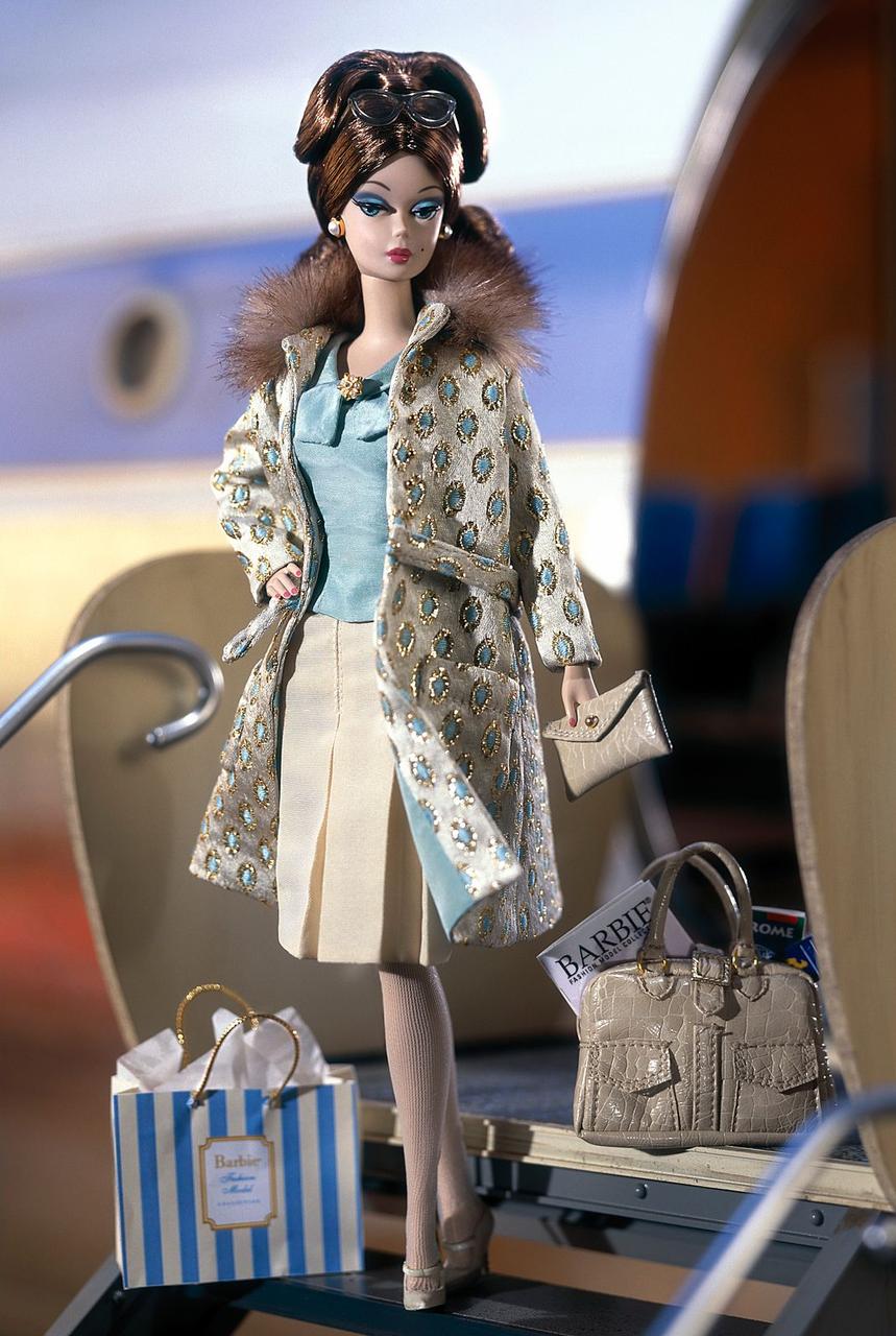 Барби Силкстоун Continental Holiday Giftset
