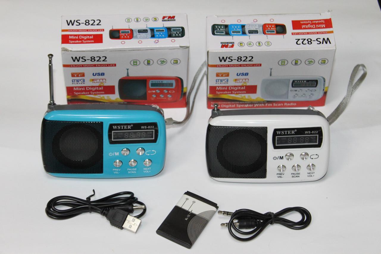 Колонка WS-822 Color mix