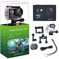 Экшн камера Sports Cam W9s с Wi-Fi 4K