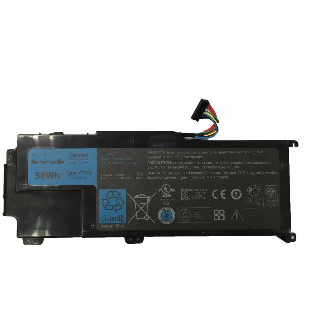 Аккумулятор 14.8v 58wh V79Y0 Dell XPS 14z Series XPS 14Z-L412X XPS 14Z