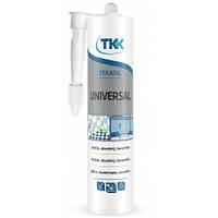 Герметик силиконовый универсальный Tekasil Universal, прозрачный, 280 мл   12-331