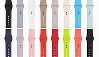 Силиконовый ремешок для Apple Watch 38/42mm (Different colors)