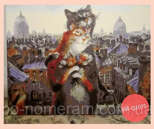 картина по номерам коты румянцева