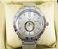 Часы Pandora Quartz 38mm Silver/Silver. Реплика