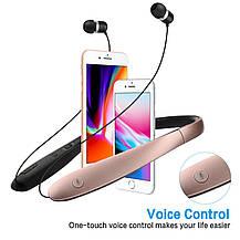 Складные Bluetooth наушники Brondotech с микрофоном, фото 2