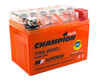 Мото аккумулятор Champion 4Ah YTX4L-BS (GEL)
