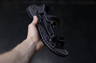 Кожаные мужские сандалии PTPT