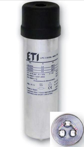 ETI Конденсаторная банка LPC 1,5 kVar 400V 4656701