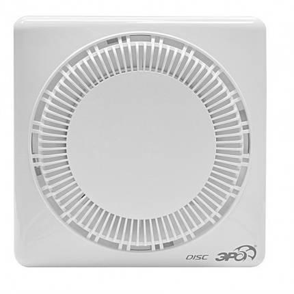 Вентилятор осевой, вытяжной, d 100 мм, обратный клапан   60-653, фото 2
