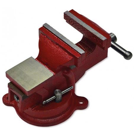 Купить Тиски слесарные поворотные 100 мм, 5 кг.   42-830, Technics