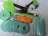 Набор для подвязки: степлер для подвязки (тапенер для подвязки) + лента + скобы на 10000 подвязок, фото 1