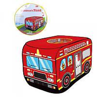 Палатка дитяча M 3752 автобус, 110-71-71 см, 1 вхід-накидка, вікно на даху, в сумці, 40-40-5см