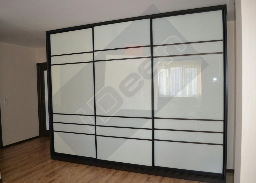 Шкаф купе крашенные панели, стекло - 17