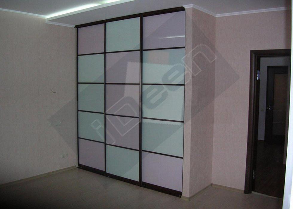 Шкаф купе крашенные панели, стекло - 18