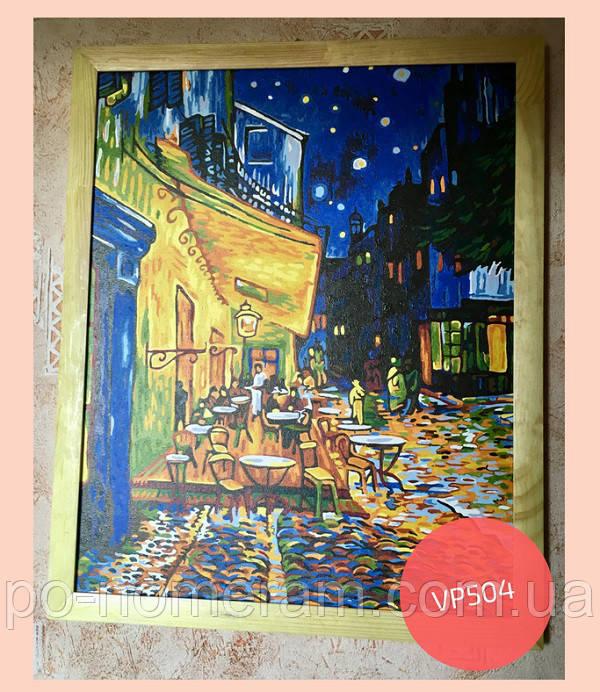 картина ночное кафе винсента ван гога