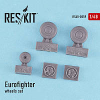 Eurofighter Typhoon wheels set 1/48 RES/KIT 48-0059