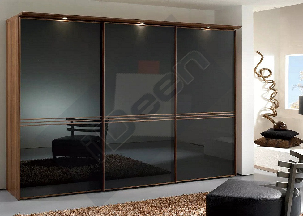 Шкаф купе крашенные панели, стекло - 22