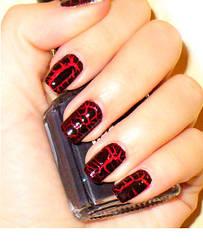 Трескающийся лак для ногтей mn-07T (кракелюровый)