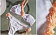 Купальник раздельный с цветами, фото 2