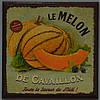 """Дерев'яне пано """"le Melon"""" (16х16 див.)"""