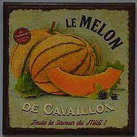"""Дерев'яне пано """"le Melon"""" (16х16 див.), фото 1"""