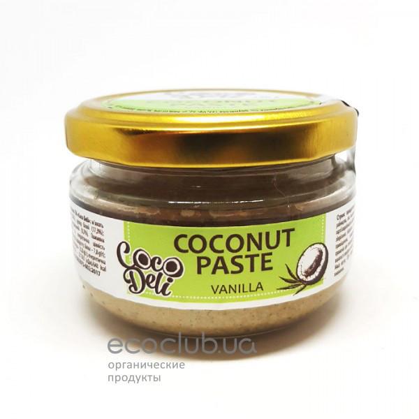 Паста кокосовая с ванилью Coco Deli 120г