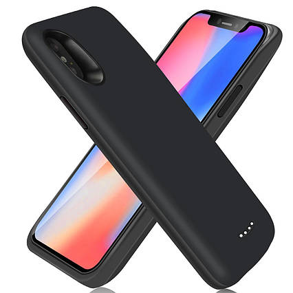 Чехол батарея (кейс) для iPhone X (6000mAh), фото 2