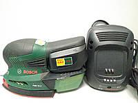 Шлифмашина полировальная,вибрационная Bosch PSM 18 Li, фото 1
