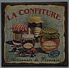 """Деревянное панно настенное """"La Confiture"""" (22х21,5 см.)"""