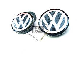 Колпачки на диски Volkswagen Ø 60-56 - Заглушки для дисков Фольксваген