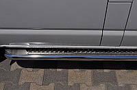 Боковые подножки Honda CRV(дизель) 2015+ d42х1,6мм